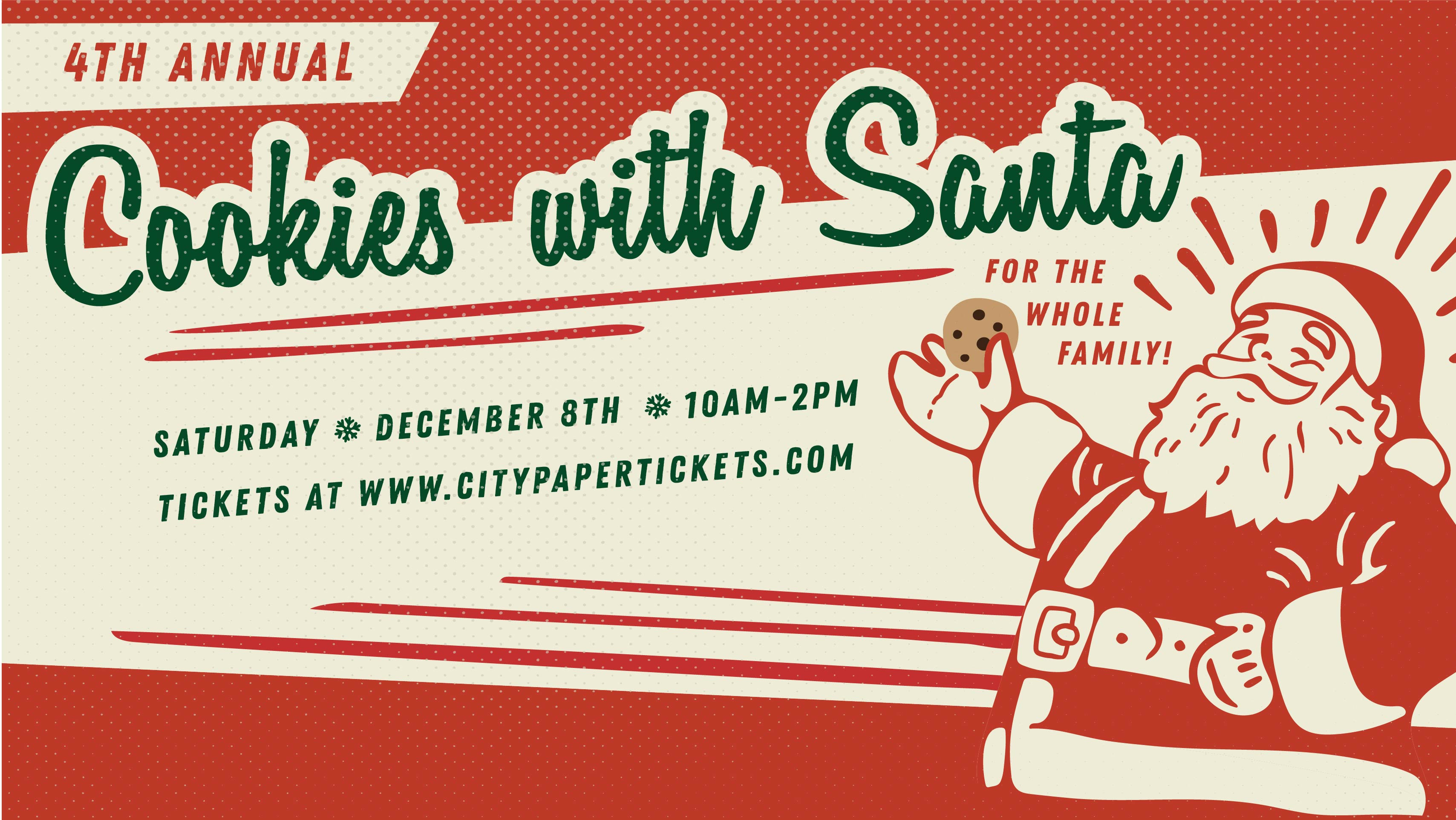 4th Annual Cookies With Santa Tickets Mercantile Mash Charleston Sc Saturday December 8 2018 10am To 2pm Charleston City Paper Tickets